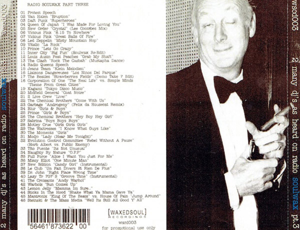 2 many djs as heard on radio soulwax pt. 1