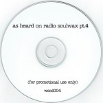 As Heard On Radio Soulwax pt. 4 CD label