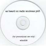 As Heard On Radio Soulwax pt. 6 CD label