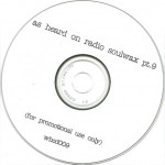 As Heard On Radio Soulwax pt. 9 CD label